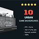 10  City Game Backgrounds - GraphicRiver Item for Sale