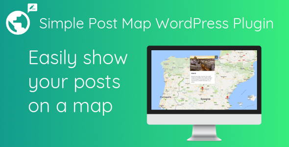 Simple Post Map WordPress Plugin - CodeCanyon Item for Sale