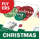 Christmas 2017 Flyers – 4 Options