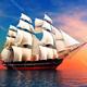 Ship Sailing Calm Indoor Squeaky Ambience Loop