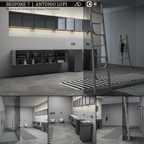 3DOcean Bathroom furniture set Bespoke 7 20979853