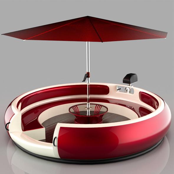 3DOcean Donut Boat 20979862