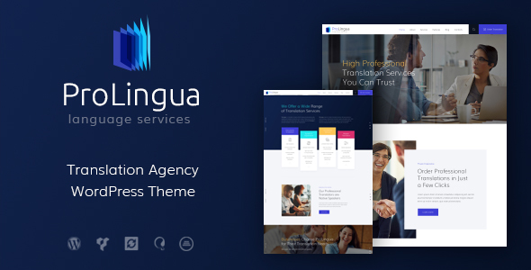 ProLingua | Translation Services WordPress Theme - Business Corporate