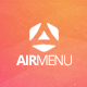 AirMenu - Responsive Fullscreen Navigation - CodeCanyon Item for Sale