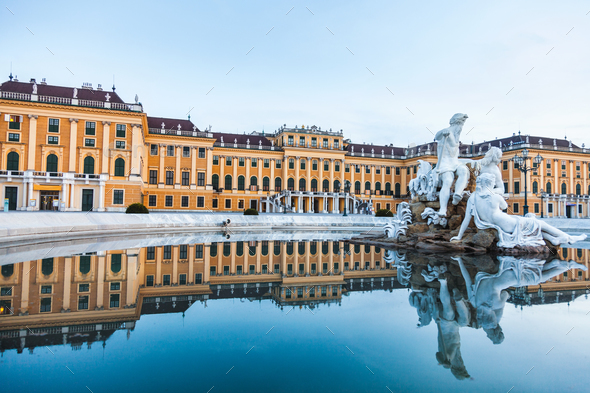 Vienna, Austria, July 21 2017: Schonbrunn Palace, imperial summer residence in Vienna, Austria - Stock Photo - Images