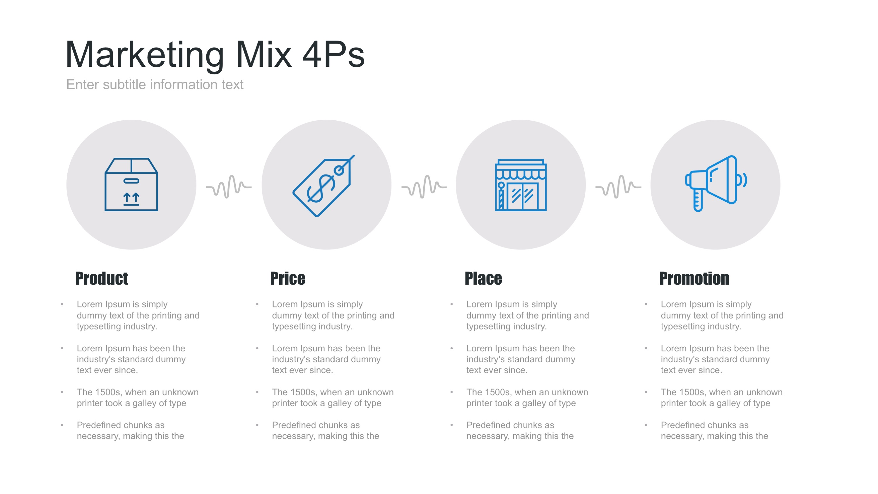 marketing mix powerpoint template by site2max
