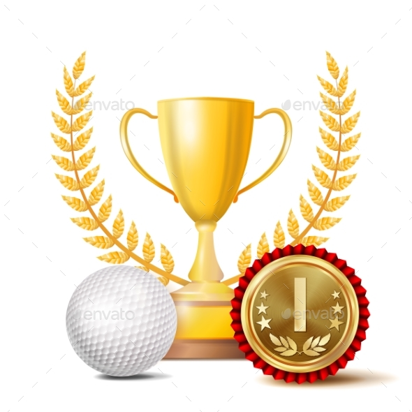 GraphicRiver Golf Achievement Award Vector 20980278