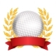 Golf Award Vector