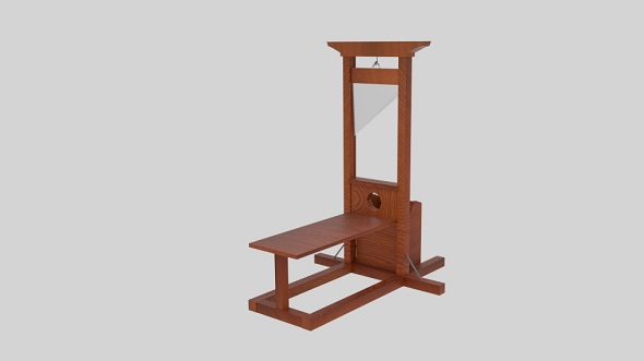 Guillotine - 3DOcean Item for Sale