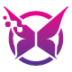 Digital Butterfly Wings Logo