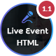 Live Event - Conference, Event & Meetup HTML Template - ThemeForest Item for Sale