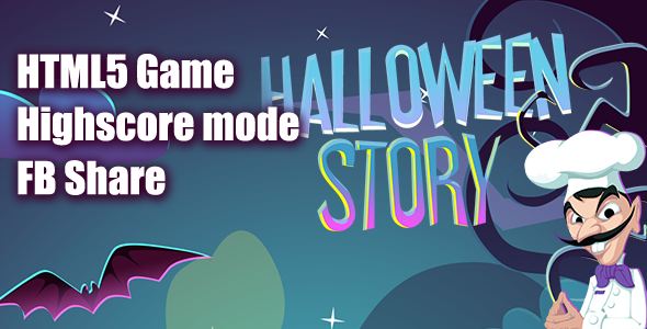 Halloween Story HTML5 Game [ MINI ] - CodeCanyon Item for Sale