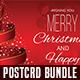 Christmas Postcard Bundle Templates