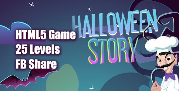 Halloween Story HTML5 Game [ 25 levels ] - CodeCanyon Item for Sale