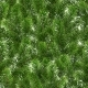 Seamless Green Pattern of Christmas Tree Branches