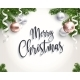 Merry Christmas Background for Congratulations - GraphicRiver Item for Sale