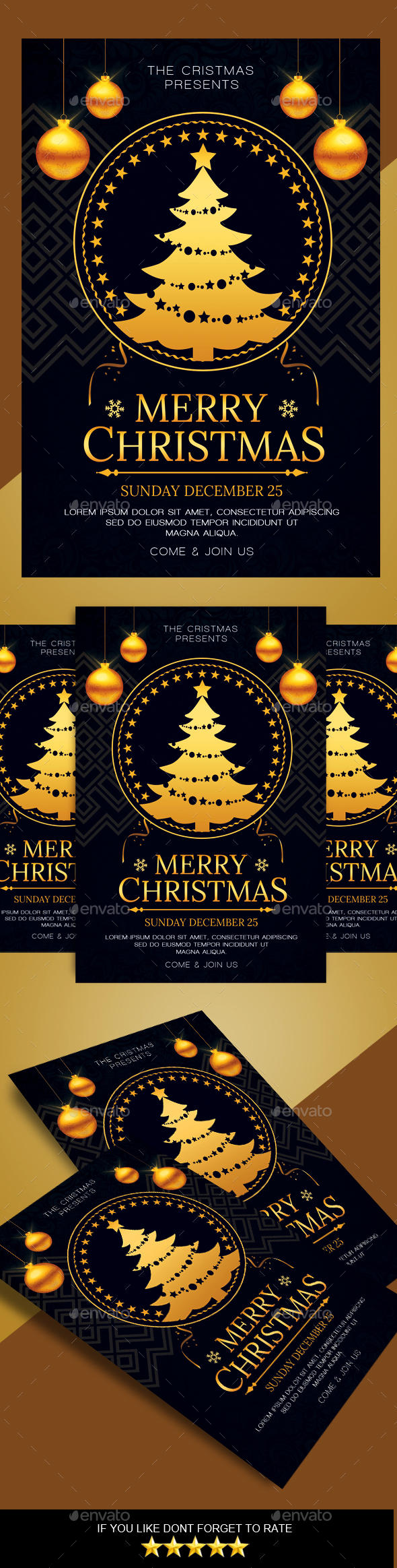 GraphicRiver Christmas Flyer 20980852