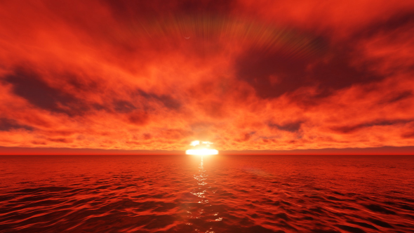 Ocean Sunset 4 by UglyduckBG | VideoHive