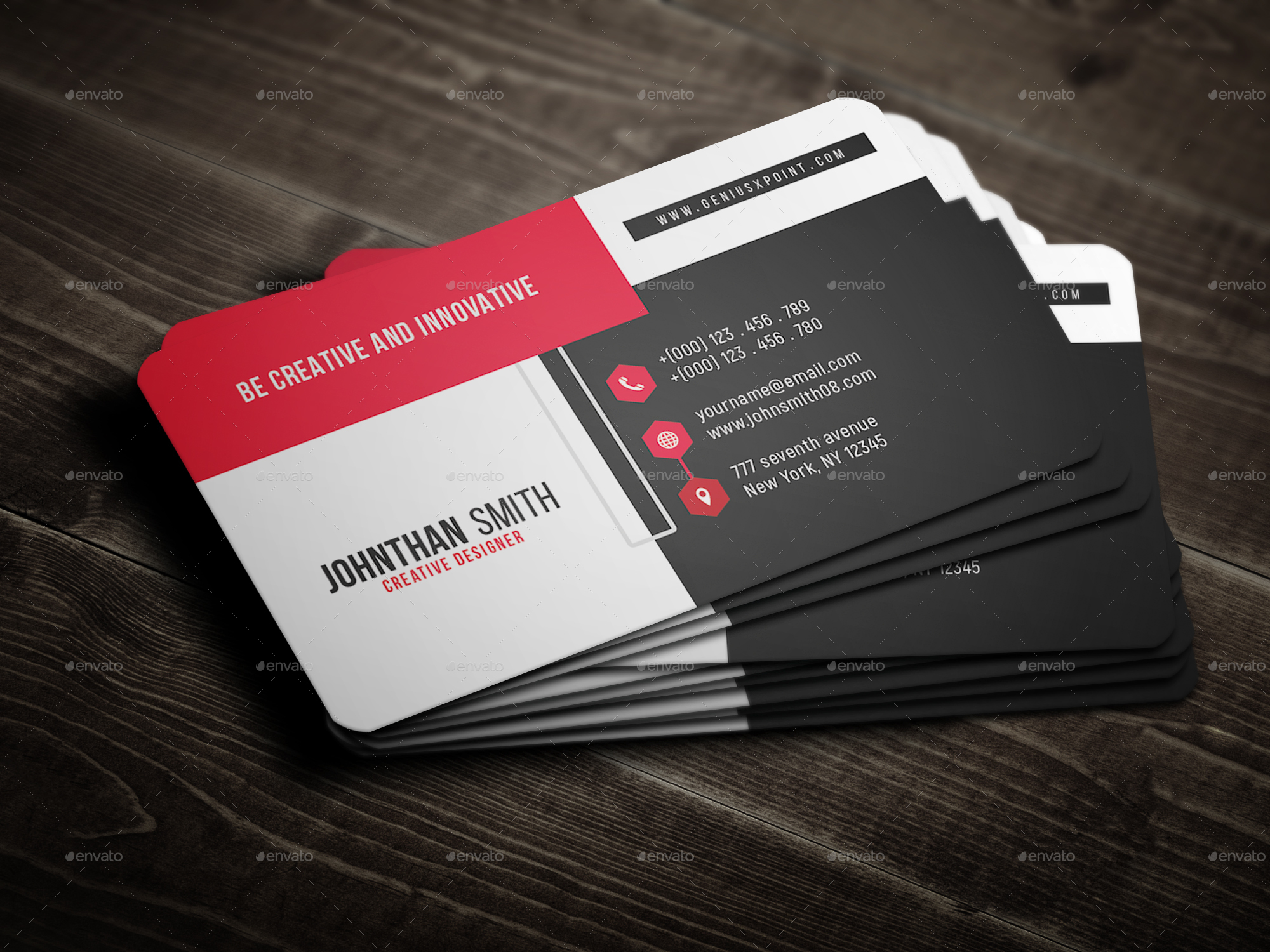 Corporate business card by geniuspoint graphicriver 01previewg magicingreecefo Gallery