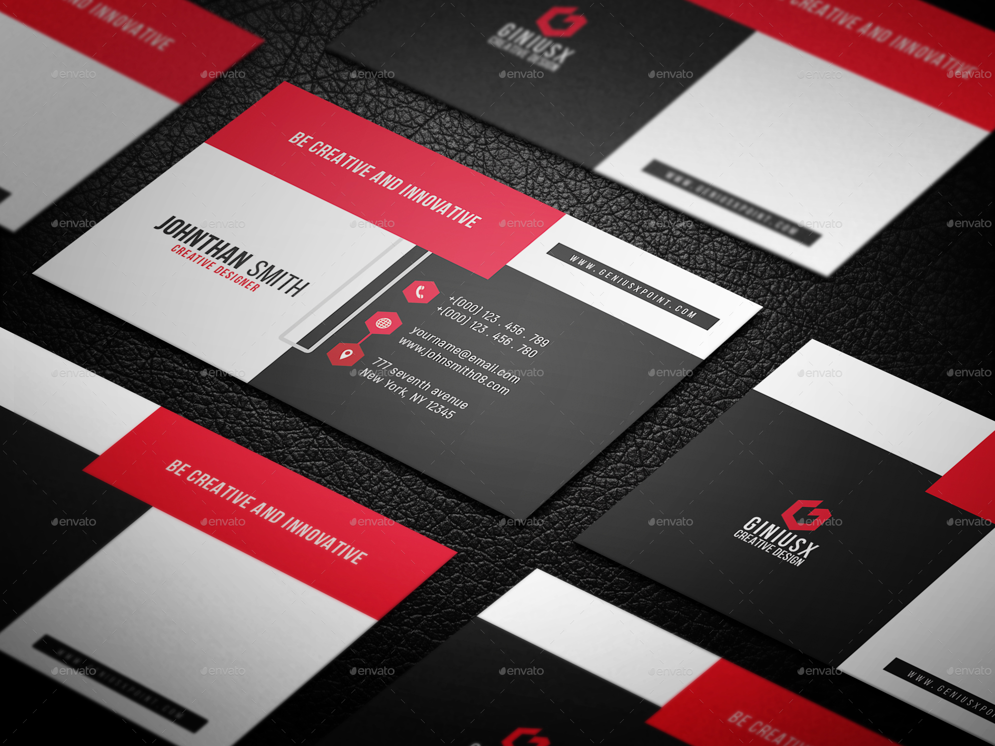 Corporate business card by geniuspoint graphicriver corporate business card magicingreecefo Gallery