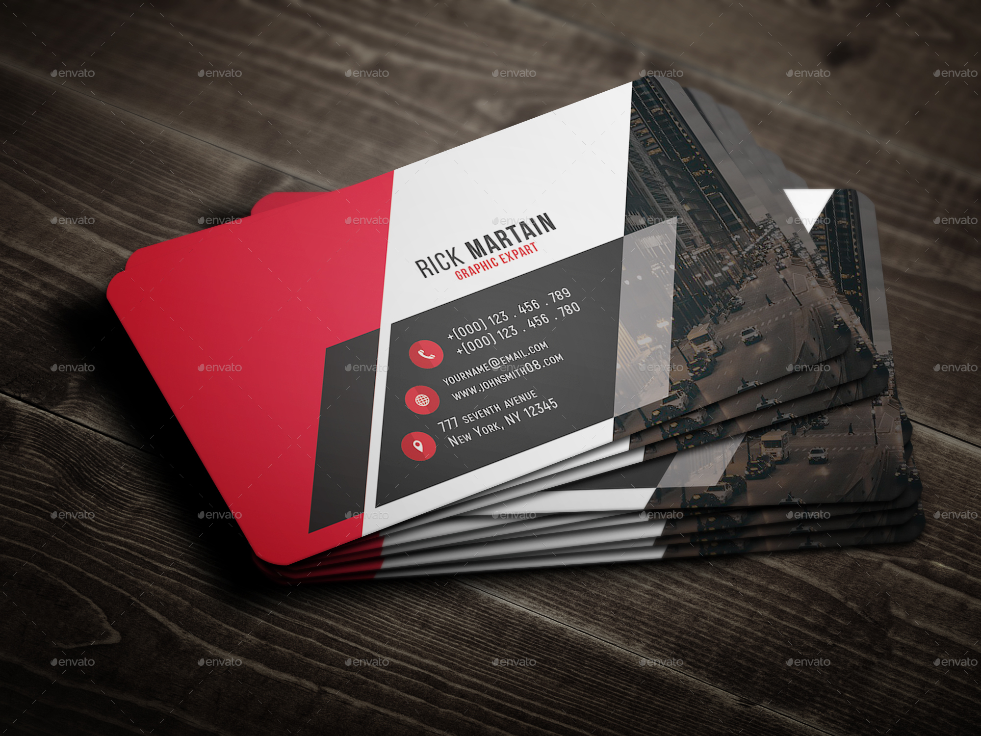 creative business card by geniuspoint