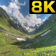 Glacial Valley and Alpine Meadow - VideoHive Item for Sale