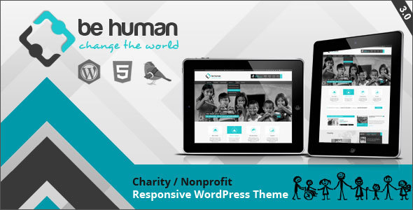 Be Human - Charity Multipurpose WP Retina Theme - Charity Nonprofit