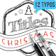 Hand Drawn Christmas Titles Pack - VideoHive Item for Sale