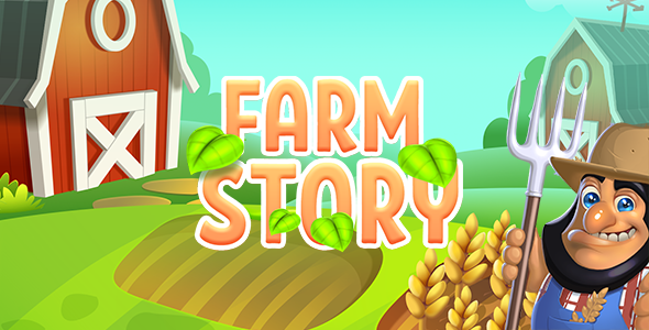 CodeCanyon Farm Story HTML5 Game 20981288
