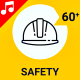 Safety Business Security Industrial Protection Icon Set - Line Animated Icons - VideoHive Item for Sale