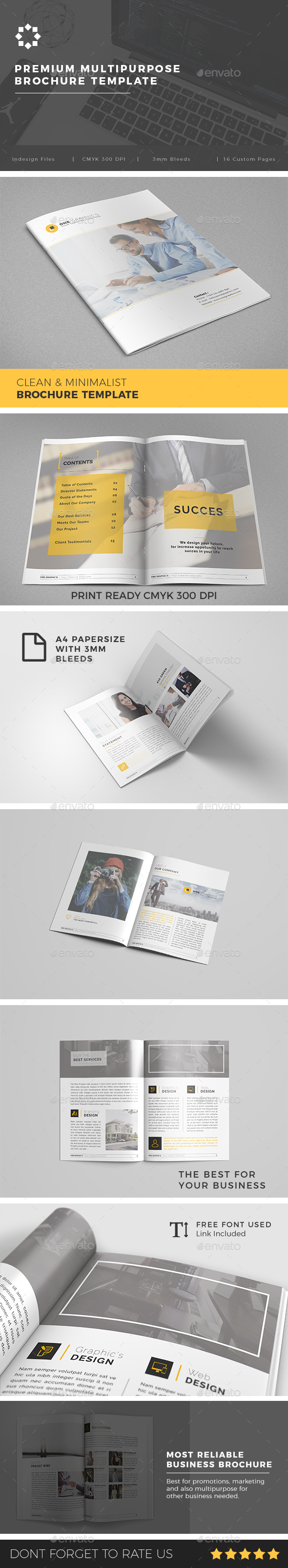 GraphicRiver Multipurpose Corporate Brochure Template Vol 03 20981490