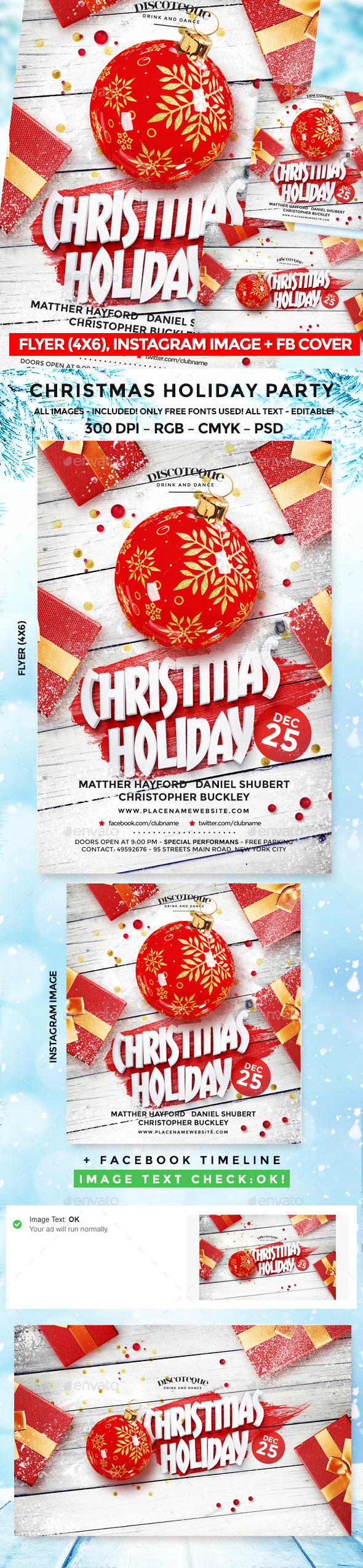 GraphicRiver Christmas Flyer 20981536