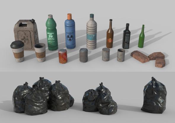 3DOcean Urban Garbage 20981656