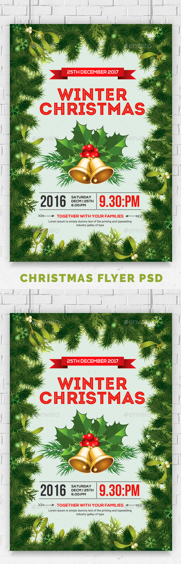 GraphicRiver Christmas Event Party Flyer 20981782