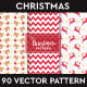 Christmas Pattern Vectors Vol.1 - GraphicRiver Item for Sale