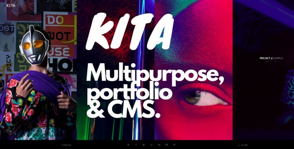 Kita - Multipurpose portfolio CMS - CodeCanyon Item for Sale