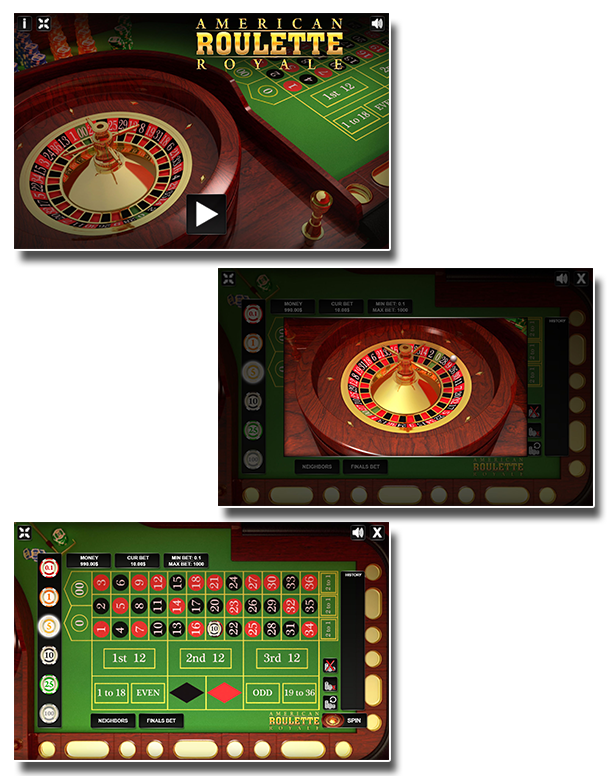 American Roulette Royale Html5 Casino Game By Codethislab Codecanyon