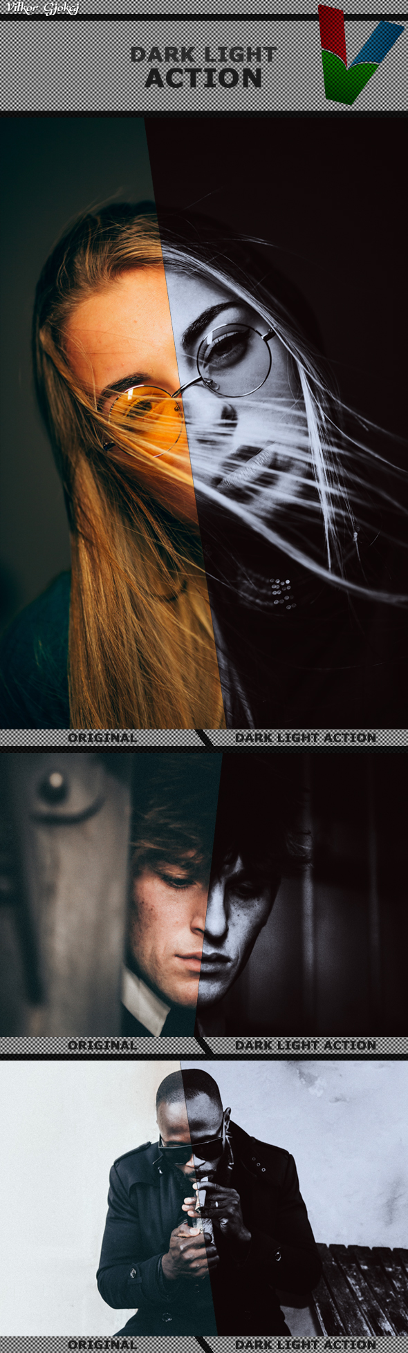 GraphicRiver Dark Light Action 20982185