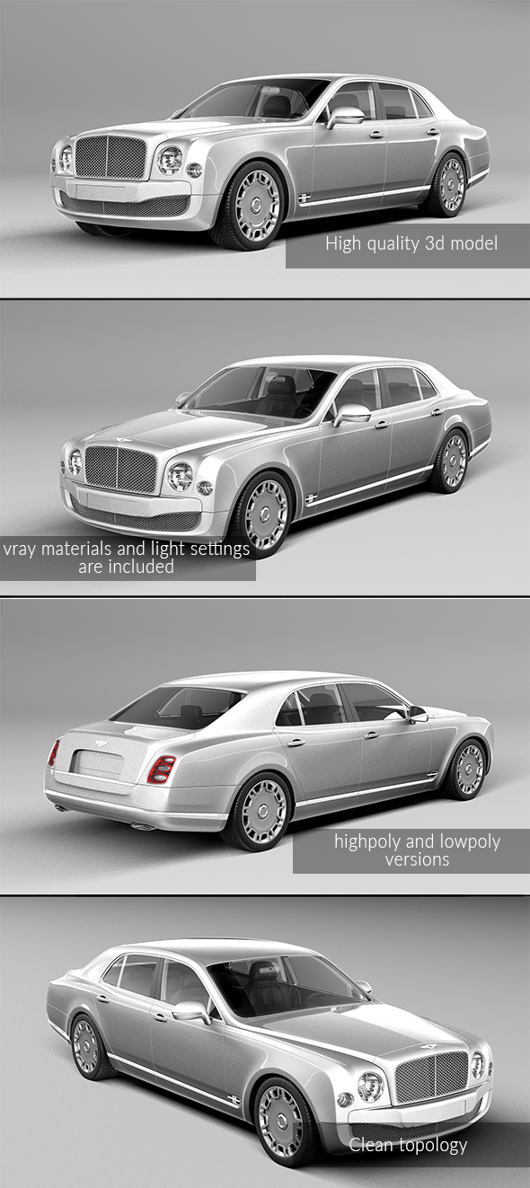 3DOcean Bentley mulsanne 20982208