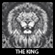 The King T-shirt Design - GraphicRiver Item for Sale