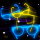 Disco Glasses Neon - VideoHive Item for Sale