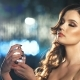 Beautiful Fashion Woman Spraying Perfume on Her Neck - VideoHive Item for Sale
