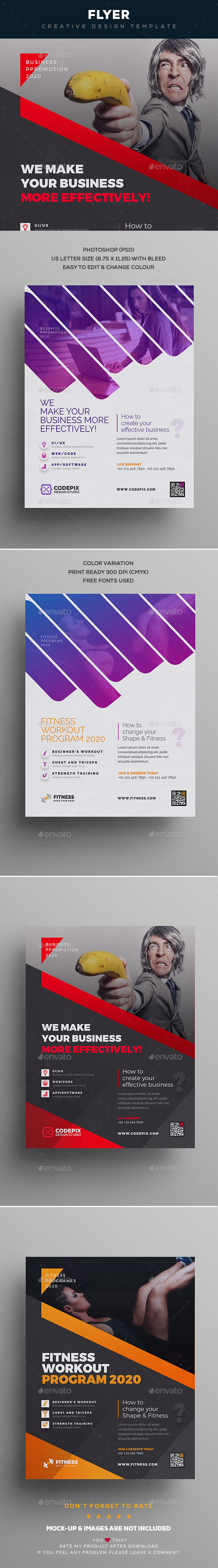 GraphicRiver Flyer Multipurpose 20982256