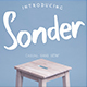Sonder Font - GraphicRiver Item for Sale