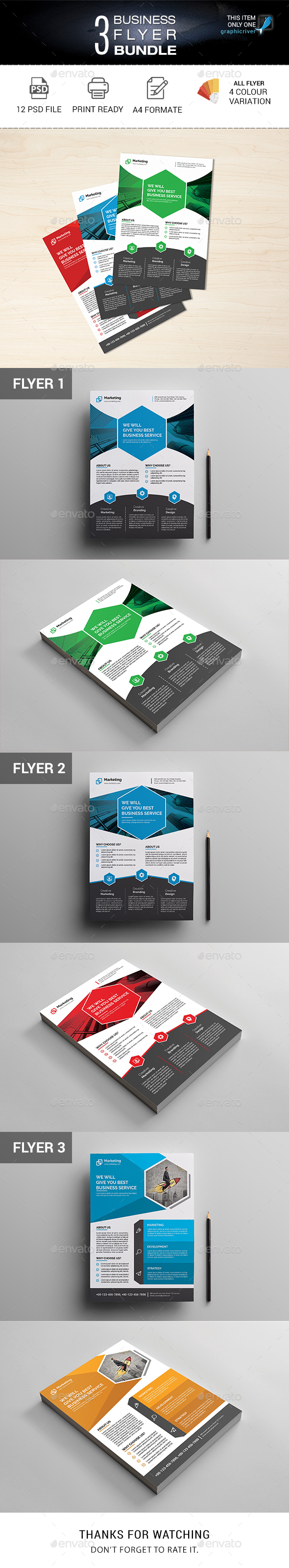 GraphicRiver Business Flyer 20982955