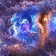 Travel Through Colorful Abstract Space Nebulae - VideoHive Item for Sale