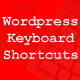 Wordpress Keyboard Shortcuts - CodeCanyon Item for Sale