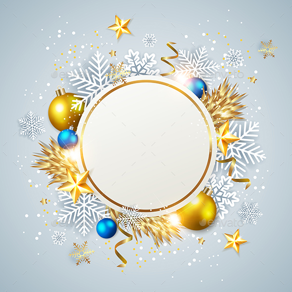 Decorative Abstract Christmas Background - Christmas Seasons/Holidays