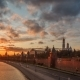 Moscow Kremlin Sunset View From Moscow River. - VideoHive Item for Sale