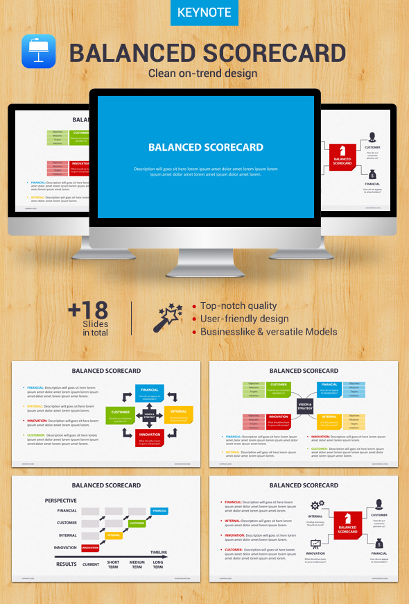 GraphicRiver Balanced Scorecard Keynote 20983852